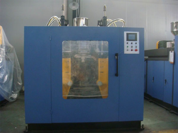 Double station blow molding machine 12L