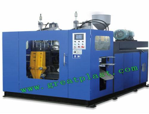 Double station blow molding machine 2L-5L