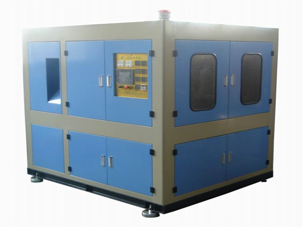 Manual PET Preform Feeding Blow Molding Machine 2L-5L