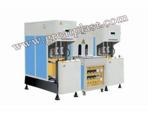 Semi Automatic Blow Molding Machine 2L-4L